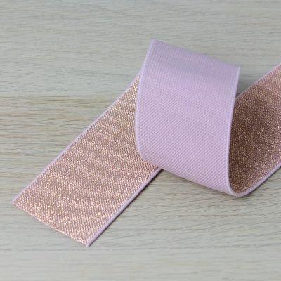 elastico per cinturini oro e rosa 50 mm