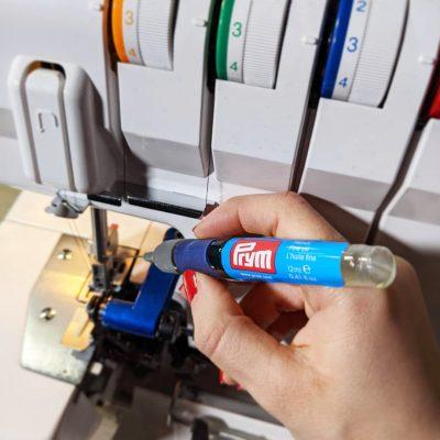 penna con olio prym per lubrificare la macchina da cucire