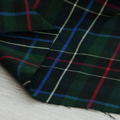tessuto scozzese verde per abbigliamento