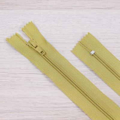 cerniera lampo fissa nylon ocra
