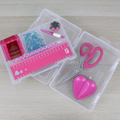 kit accessori di cucito prym love rosa