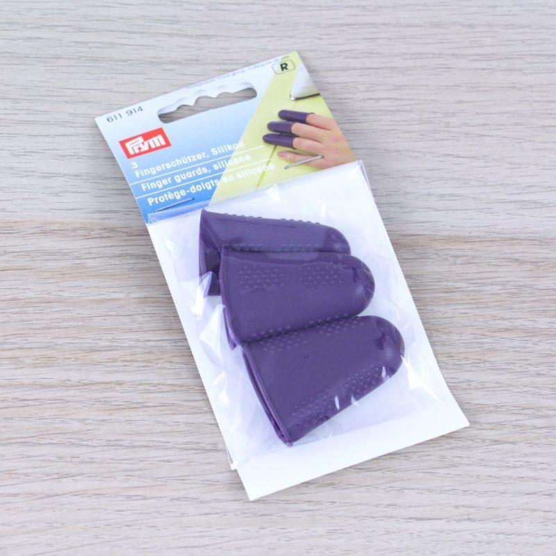 Proteggi dita in silicone Prym confezione