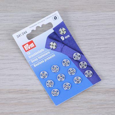 Bottoni a pressione da cucire Prym 9 mm