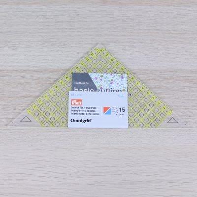 righello omnigrid triangolo