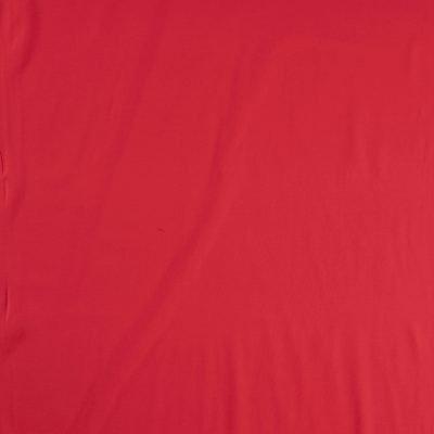 Tessuto in jersey di cotone tinta unita rosso - CAMPIONE