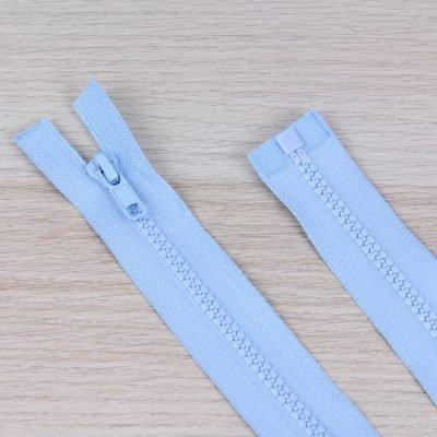 Cerniera lampo divisibile 55 cm - azzurro chiaro