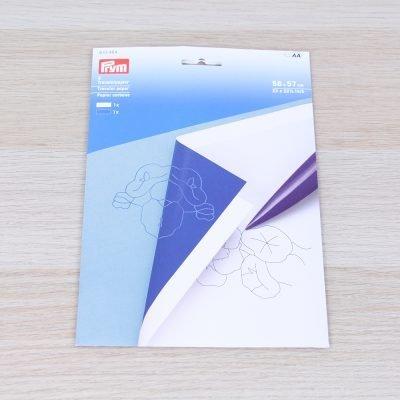 Carta copiativa Prym bianca e blu
