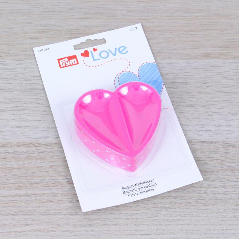 Portaspilli magnetico a cuore Prym Love confezione