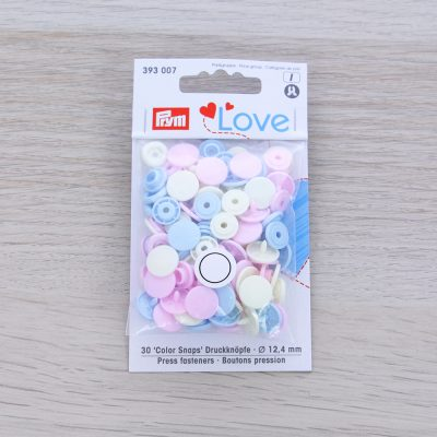 Bottoni a pressione automatici Prym Love - set pastello