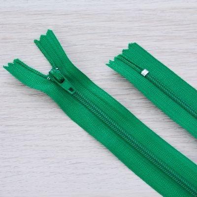 Cerniera lampo 3mm in nylon - verde