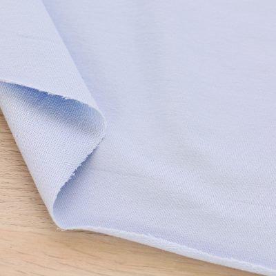 Tessuto French Terry azzurro per felpe leggere