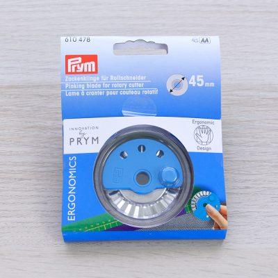 Lama di ricambio dentellata per cutter ergonomico Prym