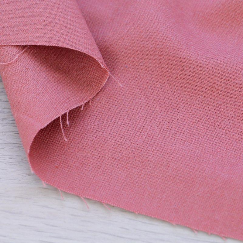 Tessuto misto lino rosa salmone