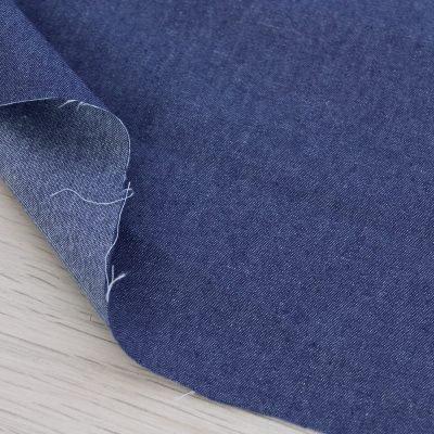 Tessuto denim blu leggero