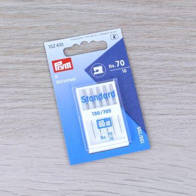 Aghi Standard 70 per macchina da cucire (testa piatta) Prym