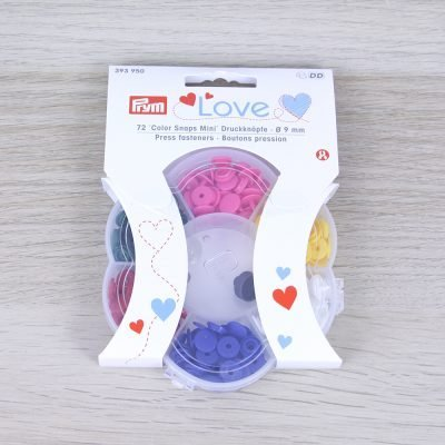 Box bottoni a pressione mini Prym Love