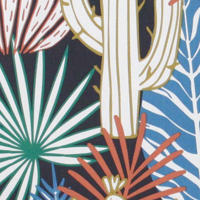 Canvas di cotone con stampa tropicale - CAMPIONE