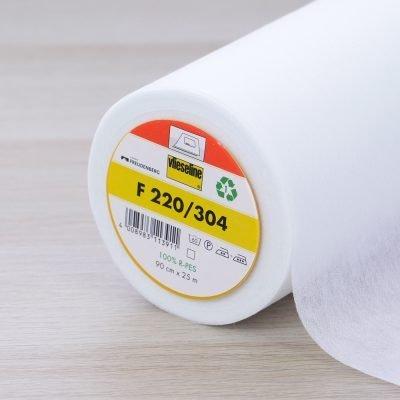 Interfodera termoadesiva F220 bianca - Vlieseline