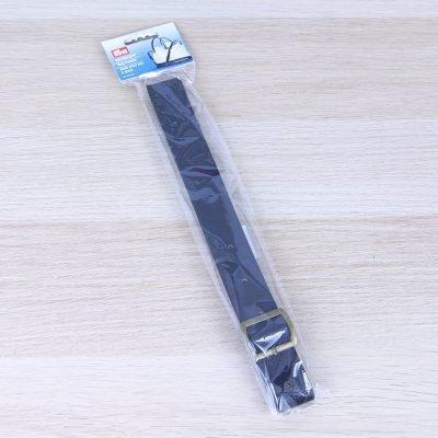 Tracolla regolabile in finta pelle nera Prym