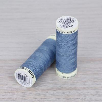 Filo per cucire azzurro - Cucitutto Gütermann 76
