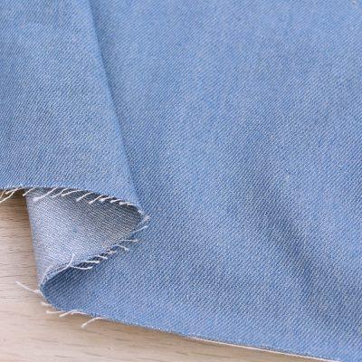 Tessuto denim azzurro medio-pesante