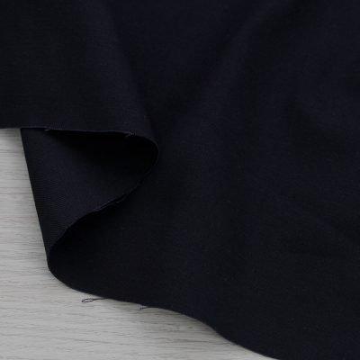 Tessuto twill di cotone nero