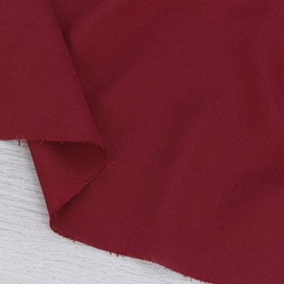 Tessuto in viscosa tinta unita rosso